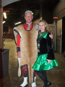 colleen has been irish dancing for more than 15 years including in competitions las vegas performances and as an instructor with schools in ohio - Irish Dancer Halloween Costume